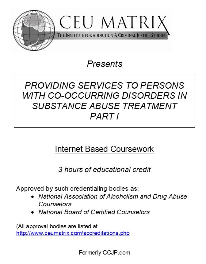 Ohio LCDC II, III, and LICDC (for those holding a CDCA) - CEU Matrix